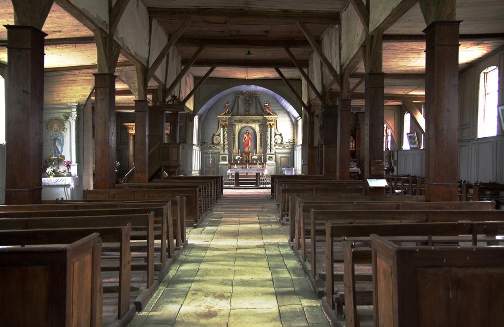 Int Rieur D 39 Une Eglise En Hdr Par Philippe Baumel